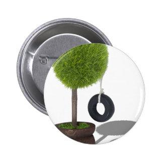 TreeSwing081510 6 Cm Round Badge
