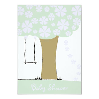 TreeSwing 13 Cm X 18 Cm Invitation Card