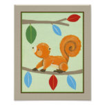 Treetop Friends - Squirrel Posters