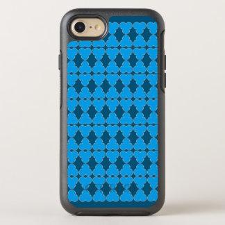 Trefoil semi transparent elegant pattern OtterBox symmetry iPhone 8/7 case