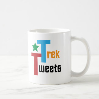 Trek Tweets Basic White Mug