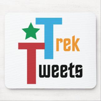 Trek Tweets Mouse Pads
