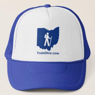 TrekOhio Trucker Hat, Royal Blue Trucker Hat