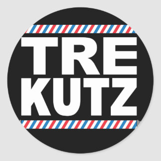 TreKutz logo sticker
