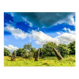 Trellech Stone Circle Postcard