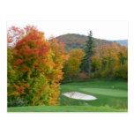 Tremblant golf postcard