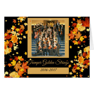 Tremper Golden Strings AUTUMN Kenosha Wisconsin Card