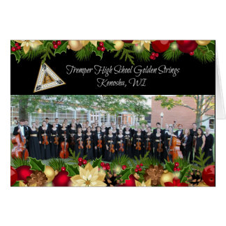 Tremper Golden Strings Christmas Card 2015-16