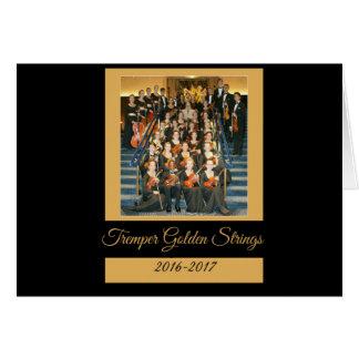 Tremper Golden Strings Kenosha Wisconsin Card
