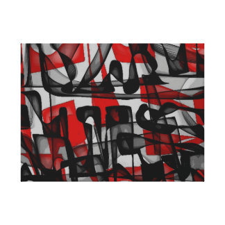 TRENCH - Abstract Canvas Gallery Wrapped Canvas