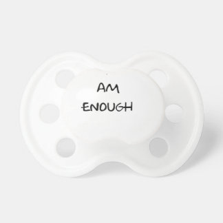 trend chic funny text pacifiers