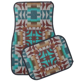 Trending Eclectic Ethnic Bohemian Mosaic Pattern Floor Mat