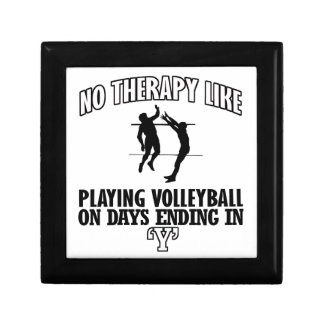 TRENDING Volleyball DESIGNS Small Square Gift Box