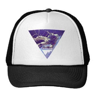 Trendium Authentic Astronaut in Inverted Triangle Mesh Hats