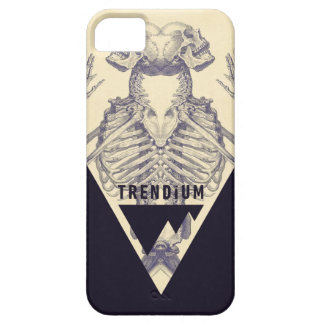 Trendium Vintage Symmetrical Skeleton Triangle iPhone 5 Cover