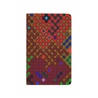 Trendy Abstract Art Psychedelic Journal