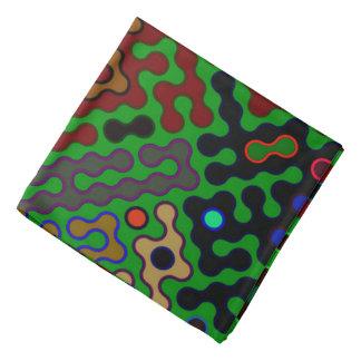 Trendy Abstract Art Psychedelic Kerchiefs