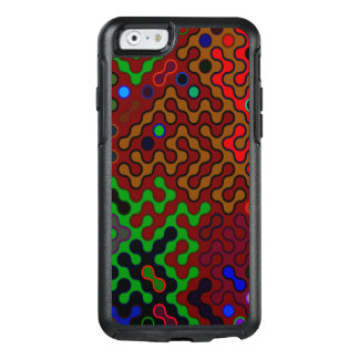 Trendy Abstract Art Psychedelic OtterBox iPhone 6/6s Case