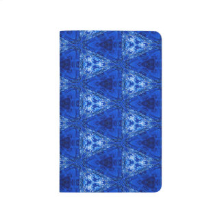 Trendy Abstract Blue Background Journal