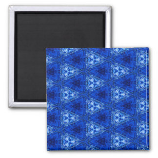 Trendy Abstract Blue Background Magnet