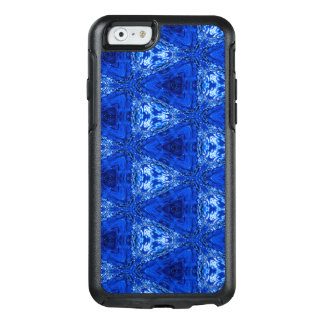 Trendy Abstract Blue Background OtterBox iPhone 6/6s Case