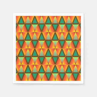 Trendy Abstract Disposable Napkins