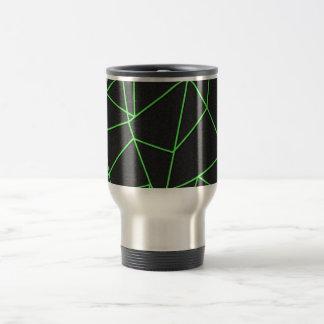 Trendy Abstract Shattered Art Travel Mug