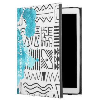 TRENDY abstract splash pattern iPad case