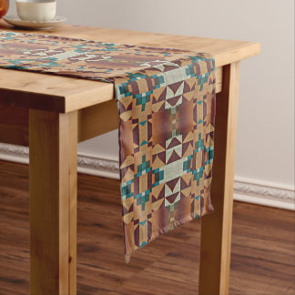 Trendy American Indian Native Tribe Mosaic Pattern