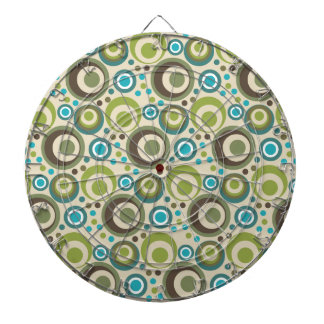 Trendy and Modern Circle Pattern Dart Board