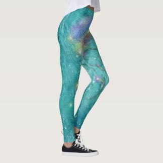 Trendy Aqua leggings