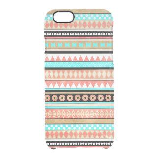 Trendy aztec clear iPhone 6/6S case