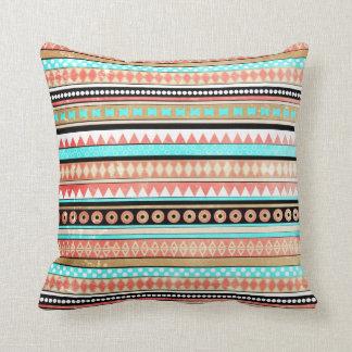 Trendy aztec cushion