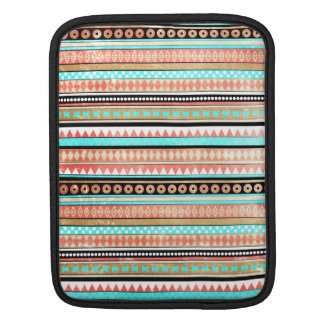 Trendy aztec iPad sleeve