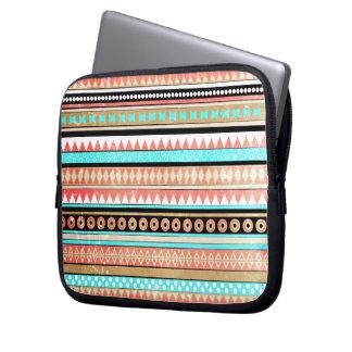 Trendy aztec laptop sleeve
