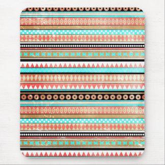 Trendy aztec mouse mat