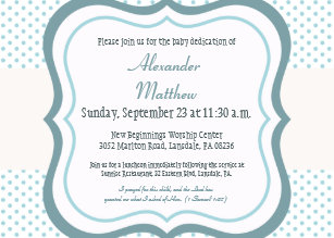 baby dedication invitations announcements zazzle uk