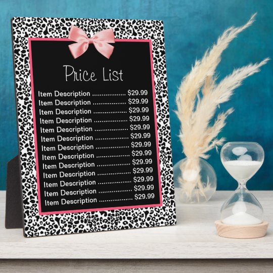 Trendy Black And White Leopard Print Price List