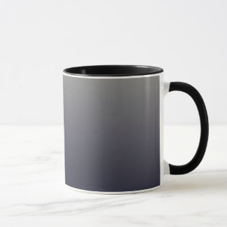 Trendy Black Ombre Gradient Mug