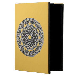 Trendy black pattern case for iPad air