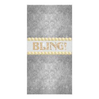 Trendy Bling! Design Photo Cards