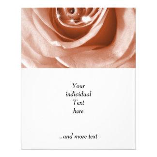 trendy bling on rose,soft peach (I) 11.5 Cm X 14 Cm Flyer
