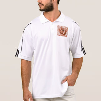 trendy bling on rose,soft peach (I) Polo Shirts