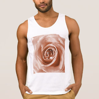 trendy bling on rose,soft peach (I) Tank