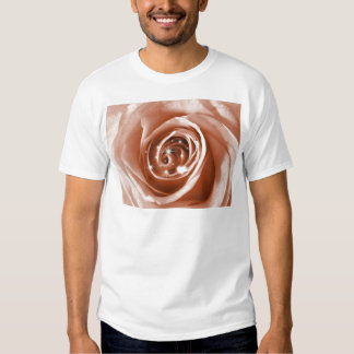 trendy bling on rose,soft peach (I) Tee Shirt