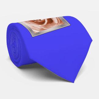 trendy bling on rose,soft peach (I) Tie