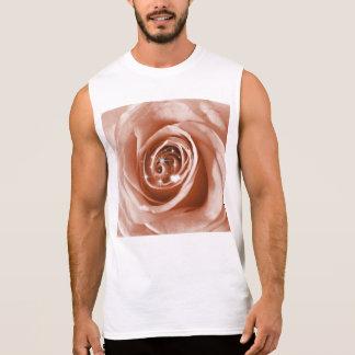 trendy bling on rose,soft peach (I) Sleeveless T-shirts