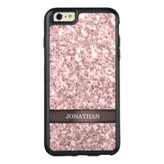 Trendy Brandy Rose Glitter OtterBox iPhone 6/6s Plus Case