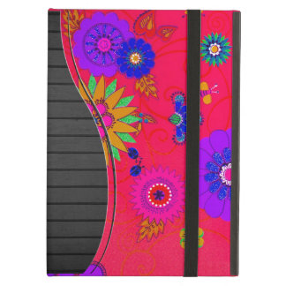 Trendy Bright Colored Floral Case For iPad Air