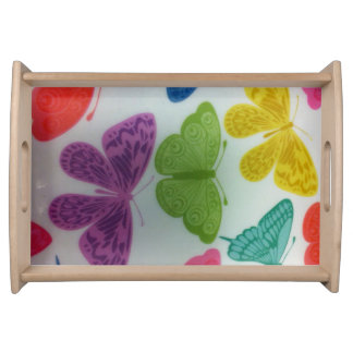 Trendy Butterfly Serving Tray. Serving Tray